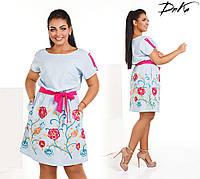 4423428f620 Платье лен батал в Украине. Сравнить цены