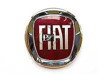 Эмблема Fiat Fiorino на штифте (d-120мм, s-10мм+5мм штифт)