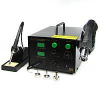 Паяльная станция LUKEY 852D+FAN фен, паяльник