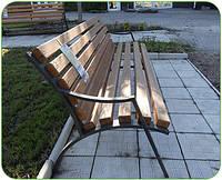 Скамейка садовая ЛЖС - 4 (лавка)