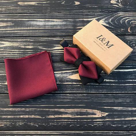 Набор I&M Craft бабочка + платок паше в пиджак (011103), фото 2