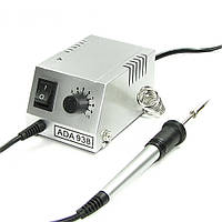 Паяльная станция AIDA Ada 938, паяльник портативный с аналоговым блоком управления (1вт-18вт/50гр-450гр)