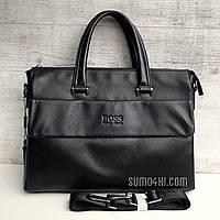 Мужская кожаная сумка ( портфель ) Hugo Boss
