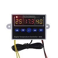 Терморегулятор W88 220В, от -19 до +99, 10A
