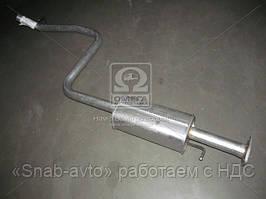 Глушитель центральный DAEWOO NUBIRA (производство Polmostrow) (арт. 43409), AEHZX
