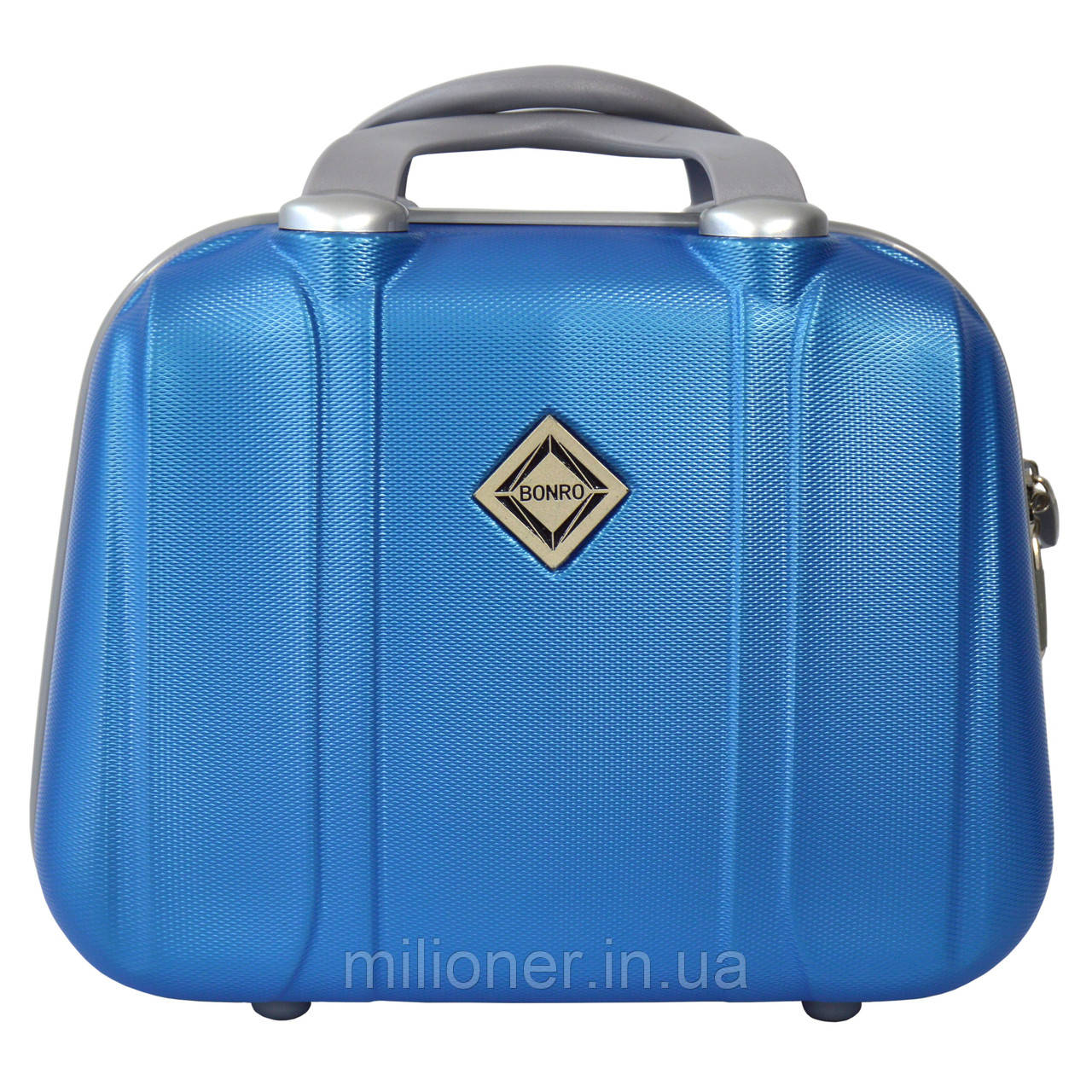 Сумка кейс саквояж Bonro Smile (средний) светло синий (blue 656)