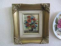 Картина маслом Цветы Германия