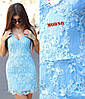 Нежное красивое женское платье