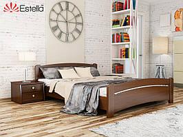Дерев'яне ліжко Венеція (8 варіантів кольорів)