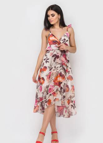 Сарафан жіночий Melani помаранчева троянда розмір 42,44,46, фото 2