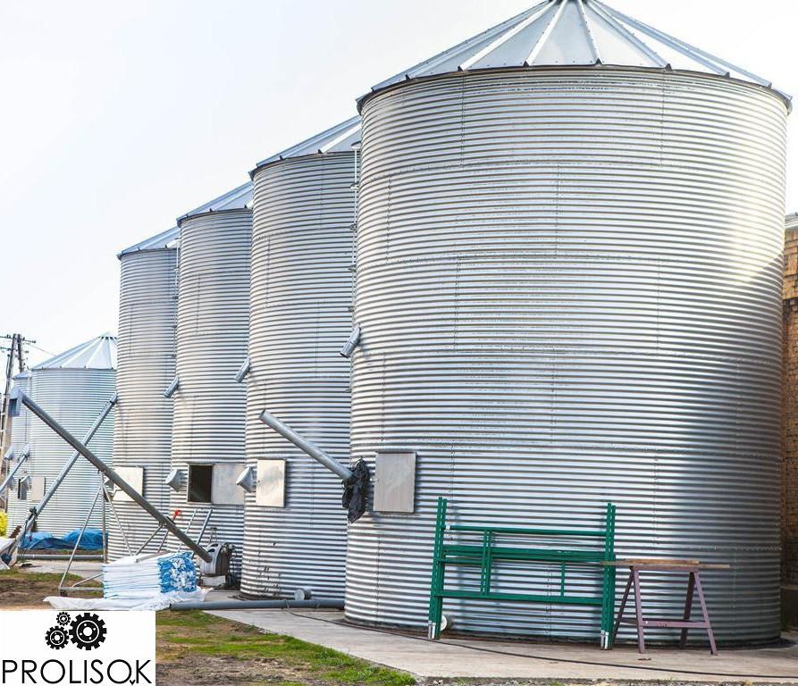 Силосы для хранения зерна 113 т