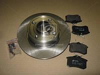 Комплект тормозной задний RENAULT CLIO/MEGANE /MODUS 02.2004- (производство REMSA) (арт. 8263.07), AFHZX