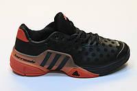 Кроссовки Adidas Barricade 2015 (черный/красный)