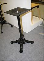 Опора для стола Renaissance (Ренессанс) Concepto черная материал чугун, 73 см, для бара, кафе, ресторана