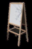 Мольберт для рисования магнитно-меловой