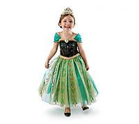 Платье для девочки.Новогодний костюм.Новогоднее платье. Зеленый
