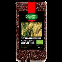 Зерно пшеницы чернозерной органическое, 400 г, Украина, ORGANIC COUNTRY