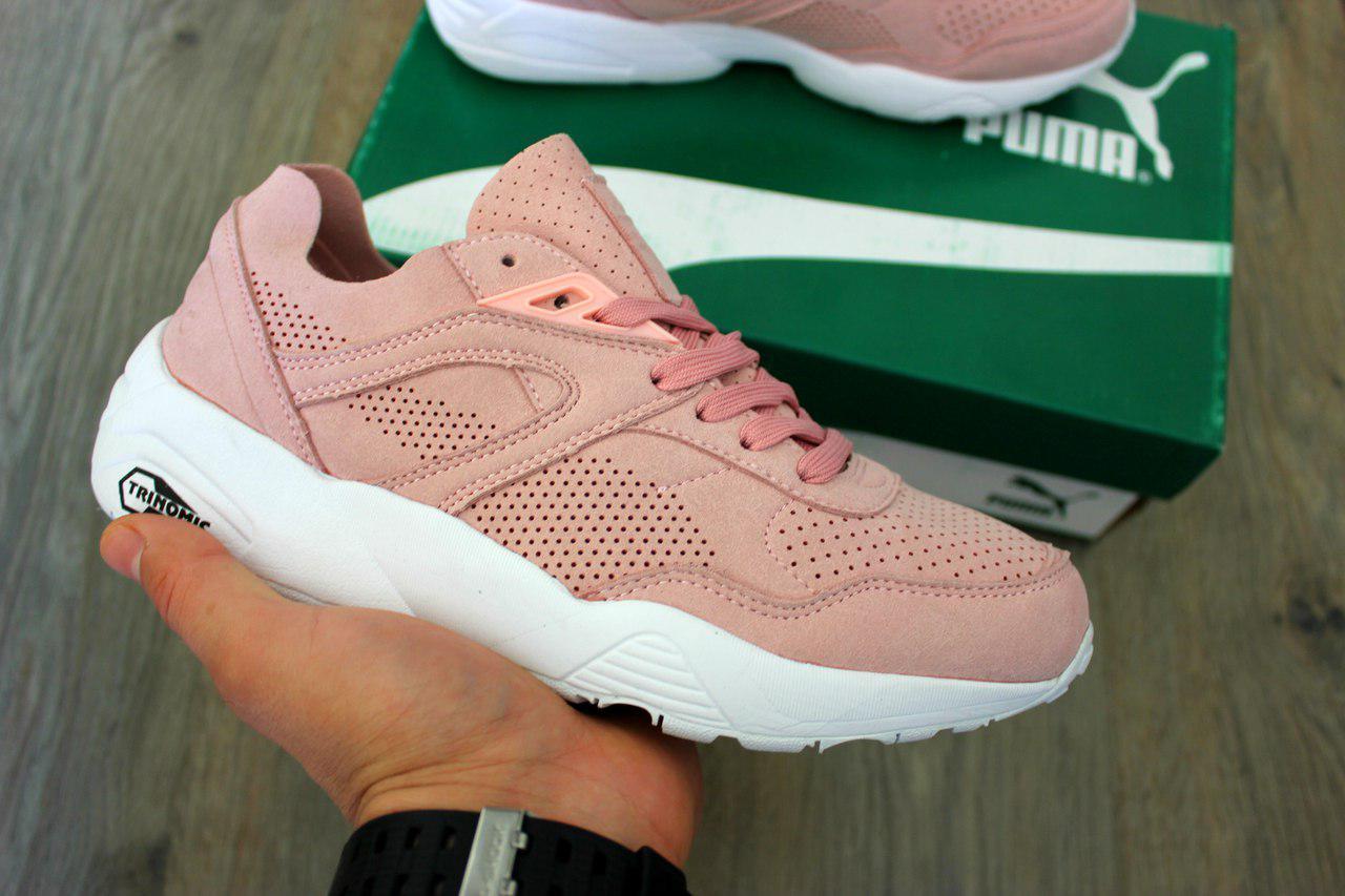 f39210bda94d Женские кроссовки Puma Trinomic R698 Soft Pack Pink  продажа, цена в ...