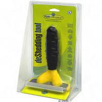 Щетка для груминга крупных собак Furminator deShedding tool Large (Фурминатор) лезвие 4,5 см