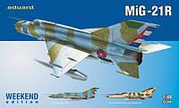 MiG-21R Weekend 1/48  Eduard 84123