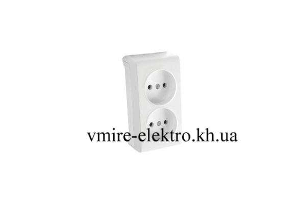 d98f42e51fee Розетка двойная Viko (Вико) Vera (Вера), цена 51,04 грн., купить в ...