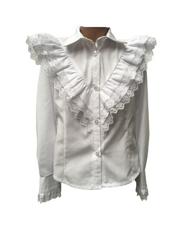 Школьная детская блуза для девочки, фото 2