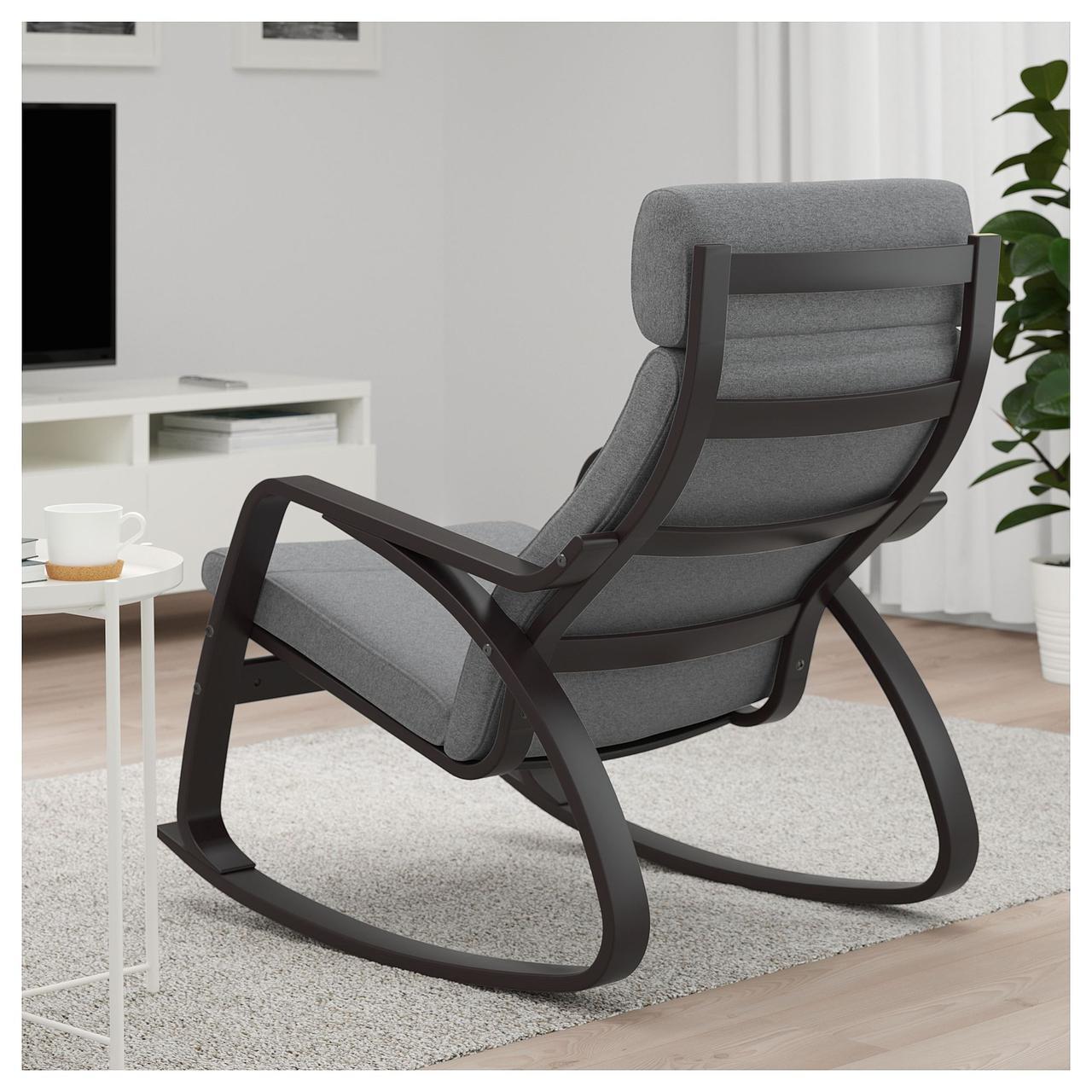 кресло качалка Ikea Poäng икеа S29244432 продажа цена в львове