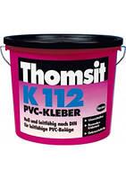 Токопроводящий водно-дисперсионный клей для ПВХ- и каучуковых покрытий Thomsit K 112, 12 кг.