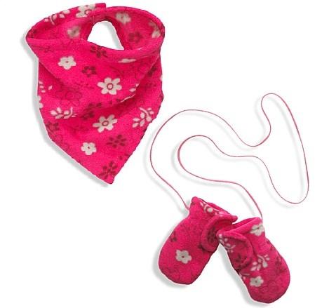 Шарф и варежки 1-1,5 года - COTTONville • хлопковые ткани для шитья и рукоделия •  в Волынской области