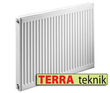 Стальной радиатор 11 тип 500х1400 TERRA teknik (боковое подключение)