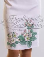 Заготовка для вышивки бисером или крестиком юбки - украинская вышиванка