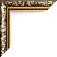 Рамка для зеркала коричневая ширина 3 см
