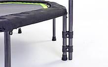 Фитнес-батут с одинарной ручкой восьмиугольный 42in FI-5650-2 (крепл. жгуты с метал. кольц, d-107см), фото 2