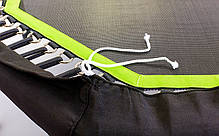 Фитнес-батут с одинарной ручкой восьмиугольный 42in FI-5650-2 (крепл. жгуты с метал. кольц, d-107см), фото 3