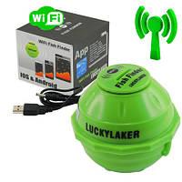 Fish finder Lucky ff-916 luckylaker - wi-fi эхолот беспроводной рыбопоисковый для рыбалки зимней и летней
