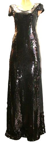 Платье вечернее паетки
