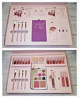 Подарочный набор для макияжа Kylie, Набор Kylie розовый набор.