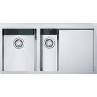 Мойка для кухни из нержавеющей стали Fanke Planar PPX 251 TL крыло справа