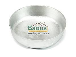 Тарелка (миска, пиала) алюминиевая 11см Пролис Кр-120