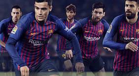Футбольная форма «Барселоны» 2018-2019