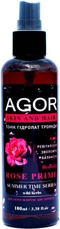 "Тоник ""Гидролат розы"" Agor, 100 мл, фото 2"