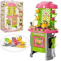 """Дитяча ігрова кухня, з посудом """"Кухня 8 ТехноК"""" 0915, в коробці"""