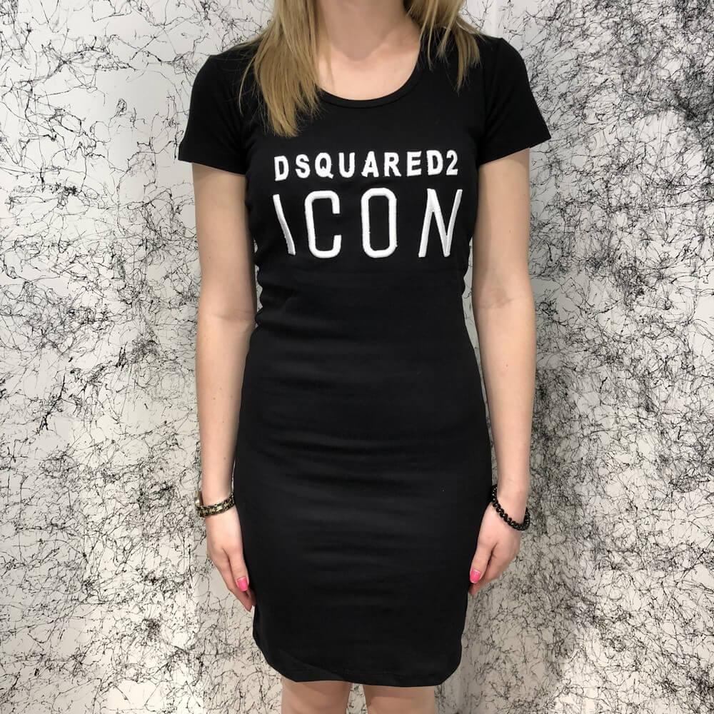 Платье женское Dsquared2 Icon 18804 черное