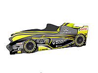 Кровать машина Формула 1 графит
