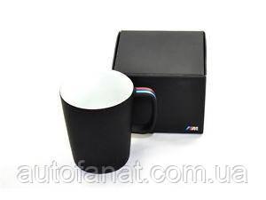 Кружка BMW M Mug, Black matt (80232410919), Чашка БМВ М Оригинал