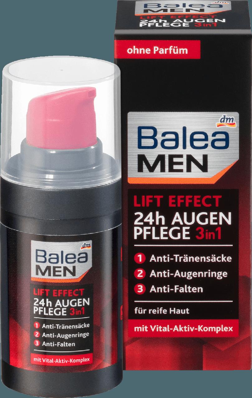 Крем для кожи вокруг глаз Balea men augencreme lift effect 24h, 15 мл.
