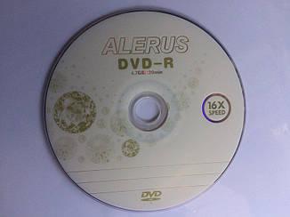 DVD-R диски для видео ALERUS 16x Bulk/50