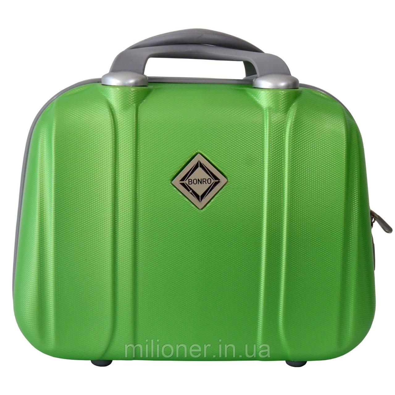 Сумка кейс саквояж Bonro Smile (большой) салатовый (green 696)