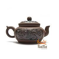 Чайник из глины для заваривания чая Дракон