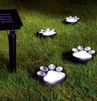 Декоративный садовый светильник на солнечной батарее Wolta Kotte 4 шт./уп. IP44 чорний, фото 1